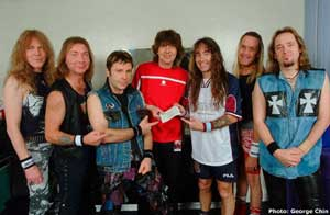 Clive with Maiden